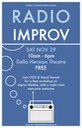 radio improv workshop